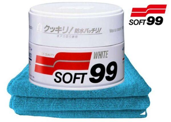Soft99 wosk do jasnych lakierów