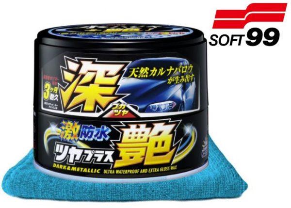 SOFT99 Water Block Wax Gloss Dark&Metallic