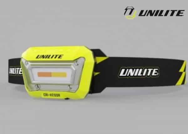 UNILITE-CRI-H200R latarka czołowa