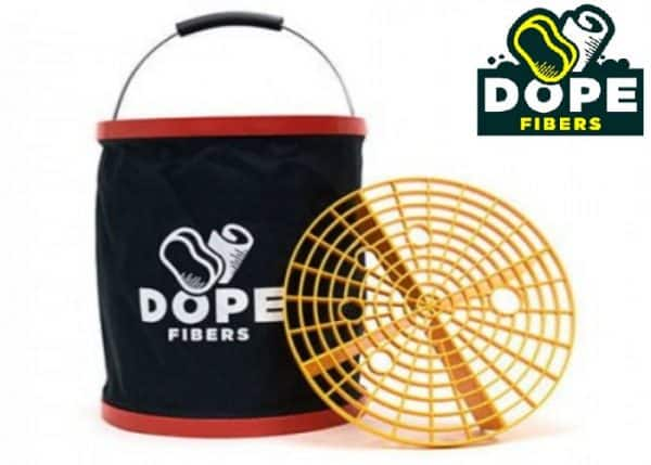 Dope Fibers Bucket Dope składane wiaderko do mycia