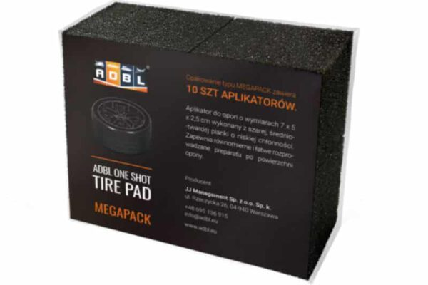 ADBL One Shot Tire Pad MEGA BOX