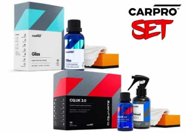 CarPro C.Quartz UK 3.0 30ml KIT + CarPro C.Quartz GLISS 30ml