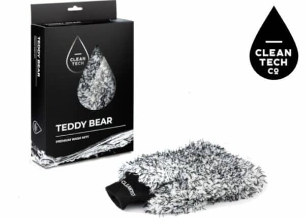 CleanTech Teddy Bear Microfiber Wash Mitt