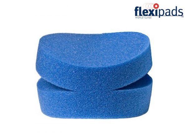 Flexipads Aplikator do wosków, dressingów BLUE