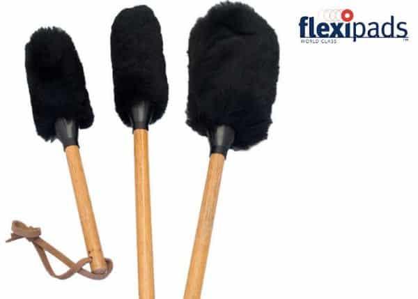 Flexipads Wheel Woolie Wands Set 3