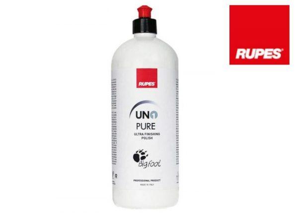 RUPES UNO PURE 1L - bardzo delikatna pasta polerska, wzmacnia połysk