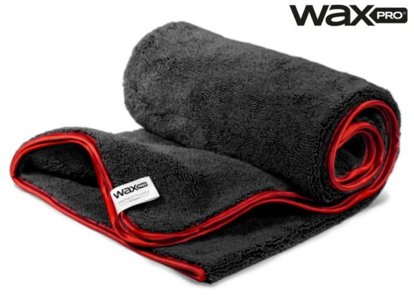 WaxPro Premium Fluffy Black 100x60cm