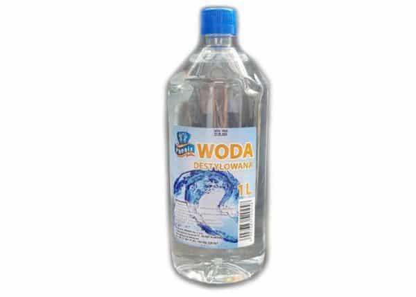 Woda destylowana 5L zdemineralizowana, czysta woda