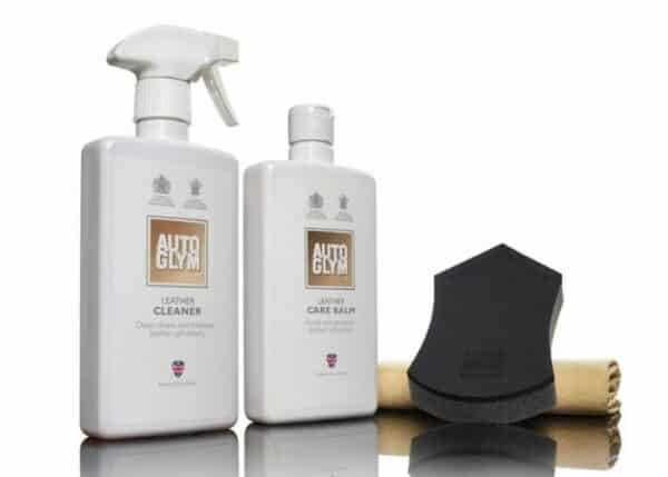 autoglym leather clean and protect complete kit