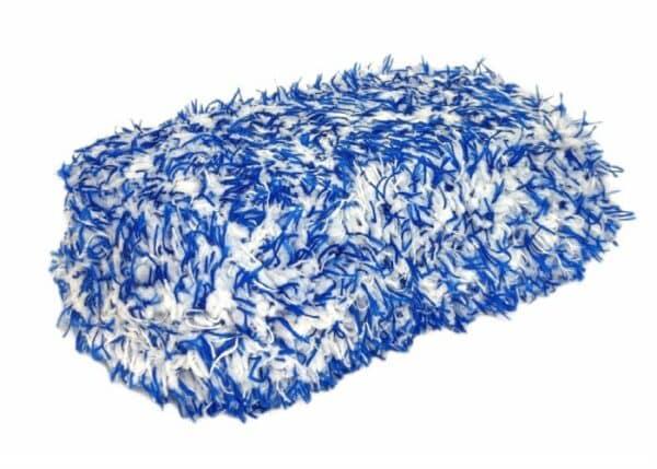 Gąbka mikrofibrowa do mycia samochodu