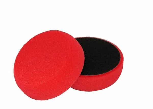 NAT-gąbka-polerska-80mm-czerwona-średnio-miękka,-twardy-finish
