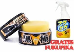 Soft99-Extreme-Gloss-The-Kiwami-Black&Dark-+-Soft99-FUKUPIKA-GRATIS-zestaw
