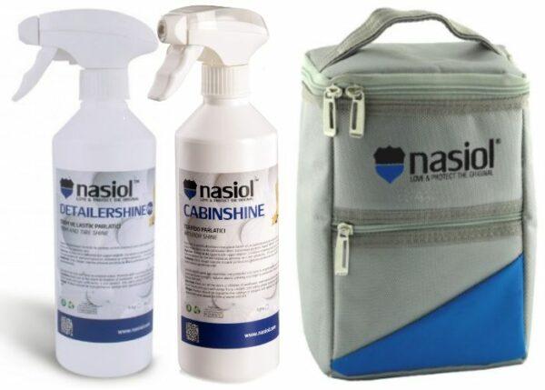 Zestaw-kosmetyków-NASIOL-+-Torba-GRATIS---dressing-do-opon-+-dressing-do-wnętrza