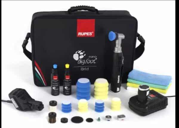 RUPES-iBrid-Nano-Short-Neck---nano-polisher,-mała-polerka-elektryczna